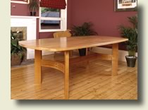 Handmade Furniture - Cherry Dining Table